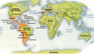 کشور های اسپانیایی زبان