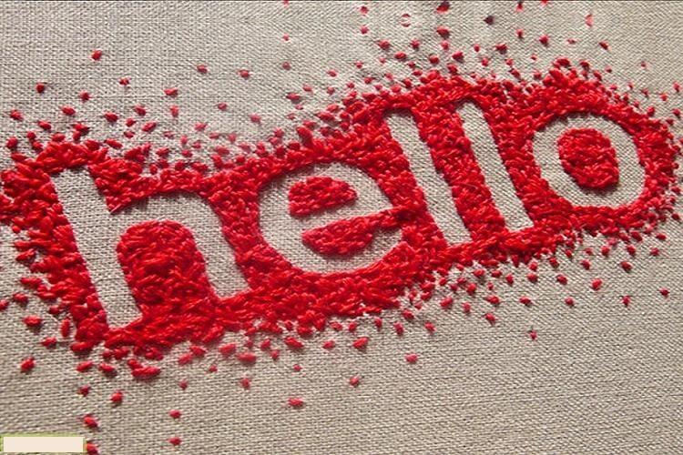 سلام و احوالپرسی به زبان انگلیسی