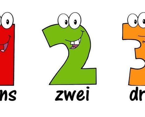 اعداد زبان آلمانی