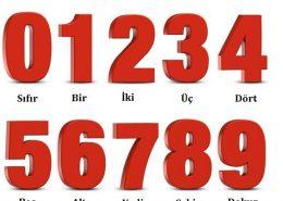 اعداد به زبان ترکی استانبولی