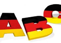 حروف الفبای آلمانی با تلفظ فارسی