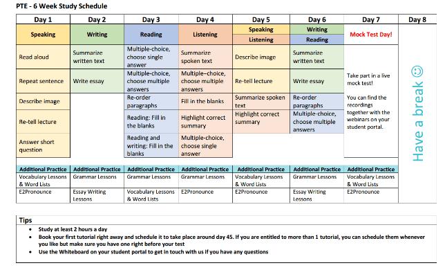 چگونه نمره PTE را در یک ماه بگیریم-1