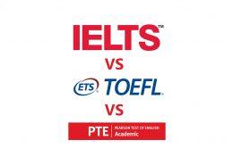 مقایسه آزمون PTE و IELTS و TOEFL