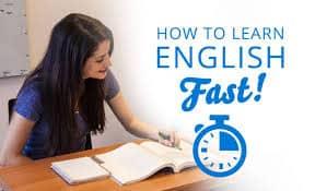 سریع ترین زمان یادگیری زبان انگلیسی