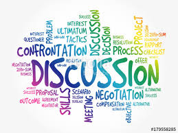 کلاس free discussion در غرب تهران