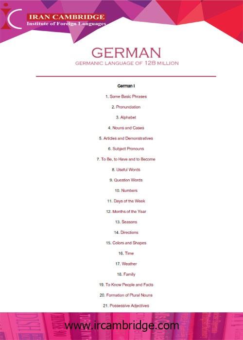 دانلود کتاب German language of 128 Million