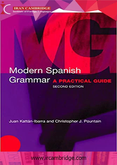 دانلود کتاب modern spanish grammar
