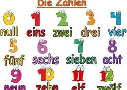 آموزش اعداد زبان آلمانی