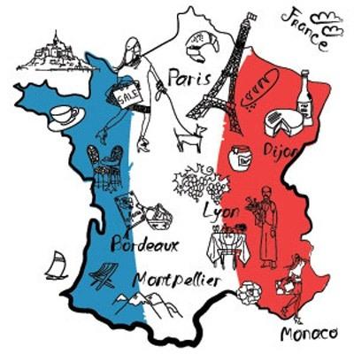 یادگیری سریع زبان فرانسه