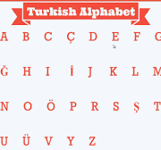 آموزش الفبای زبان ترکی استانبولی