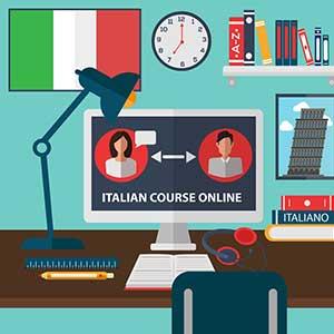 یادگیری زبان ایتالیایی در منزل