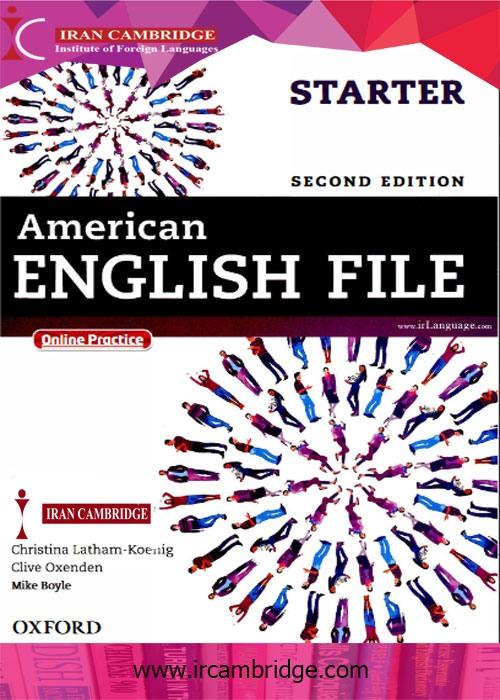 دانلود کتاب American English File استارتر