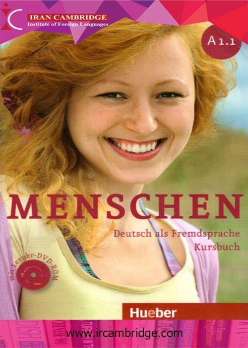 کتاب آلمانی Menschen سطح A1-1