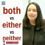 تفاوت both و either و neither
