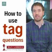 آموزش جملات سوالی tag questions در انگلیسی