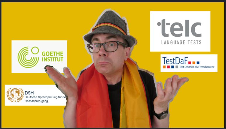 انواع آزمون های زبان آلمانی