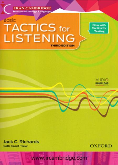 کتاب Tactics For Listening سطح basic