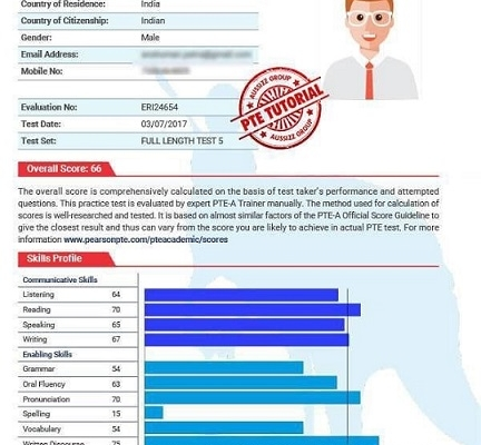 نتایج PTE