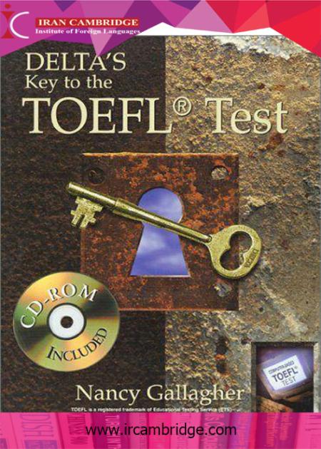 کتاب DELTA's Key To The TOEFL