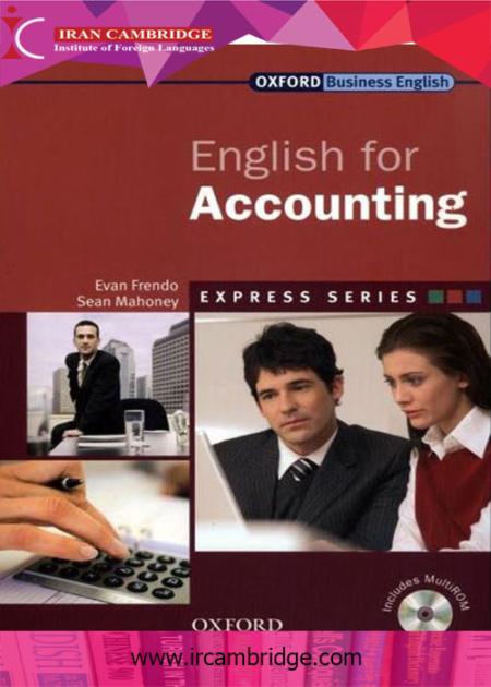 کتاب انگلیسی برای حسابداری - English for Accounting-SB