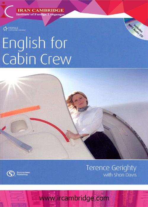 کتاب English for Cabin Crew