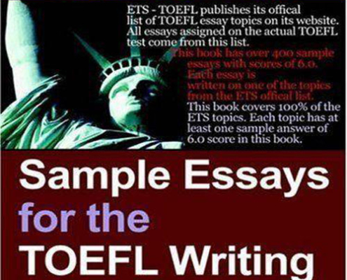 کتاب Sample Essays for the TOEFL Writing Test