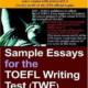 کتاب Sample Essays for the TOEFL Writing Test