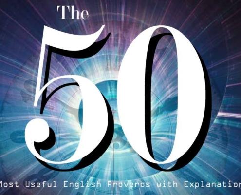 50 ضرب المثل رایج در انگلیسی