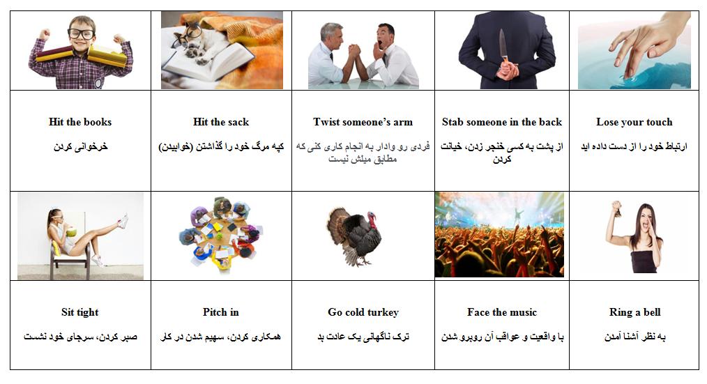 اصطلاح فوق العاده رایج زبان انگلیسی