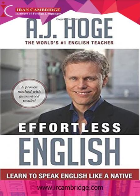کتاب Effortless English: Learn To Speak English Like A Native