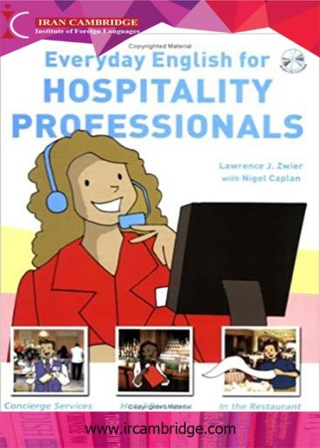 کتاب Everyday English for Hospitality Professionals