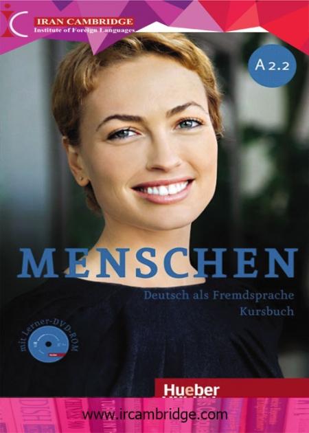 کتاب آلمانی Menschen سطح A2-2