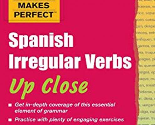 کتاب آموزش افعال بی قاعده زبان اسپانیایی