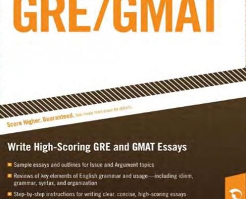 کتاب مهارت نوشتار آزمون GRE/GMAT