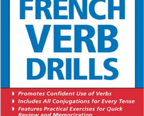 کتاب تمرینات افعال زبان فرانسه