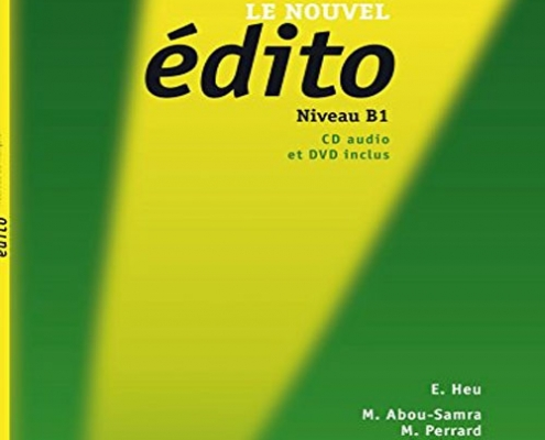 کتاب زبان فرانسه Edito سطح B1