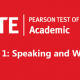 اسپیکینگ و رایتینگ آزمون PTE